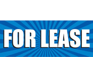 For Lease Banner Sign Vinyl Style 1000