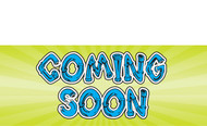 Coming Soon Sign style 1200