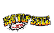 Big Top Sale Vinyl Banner Sign Style 1600