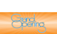 Grand Opening Vinyl Banner Sign Style 1600