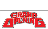 Grand Opening Vinyl Banner Sign Style 1700