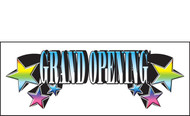 Grand Opening Vinyl Banner Sign Style 1800