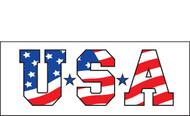 Patriotic Banner Signs Vinyl 1200