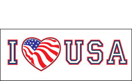 Patriotic Banner Signs Vinyl 1500