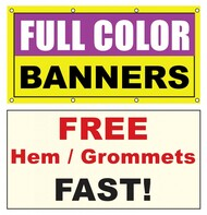 5 x 18 vinyl banner