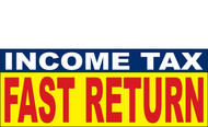 Income Tax Banners-Vinyl-Outdoor 1100