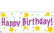 Birthday Banner Sign Vinyl 1