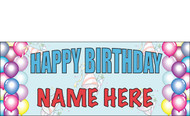 Birthday Banner Sign Vinyl 2