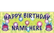 Birthday Banner Sign Vinyl 3