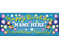 Birthday Banner Sign Vinyl 4