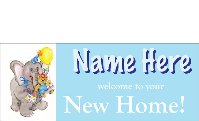 welcome home baby boy banner sign vinyl design 7 dpsbanners com