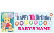 Birthday Banner Sign Vinyl 9