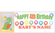 Birthday Banner Sign Vinyl 10