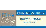 Welcome Home Newborn Banner Sign Vinyl 23