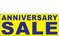 Anniversary Sale Banner Sign Style 1000