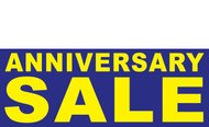 Anniversary Sale Banner Sign