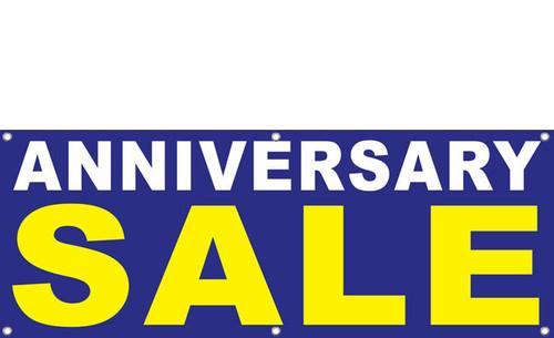 Anniversary Sale Banner Signs Design 1400