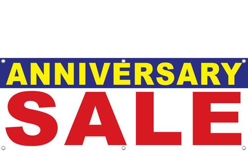 Anniversary Sale Banner Sign Design Style 1700