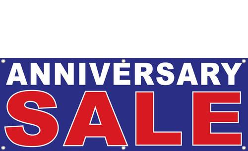 Anniversary Sale Vinyl Banner Style 1900