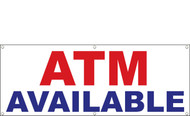 ATM Available Banner Sign Style 1000