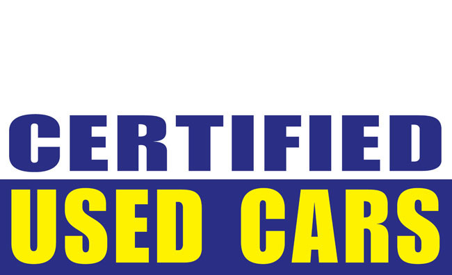 Certified Used Cars >> Certified Used Cars Banner Sign 1200