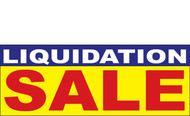 Liquidation Sale Banner Signs 1200