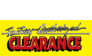 Clearance Banner Sign 1200