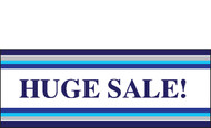 Huge Sale Retail Store Vinyl Banner Sign Style 2000