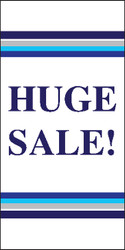 Huge Sale Vertical Vinyl Banner Sign Style 2200