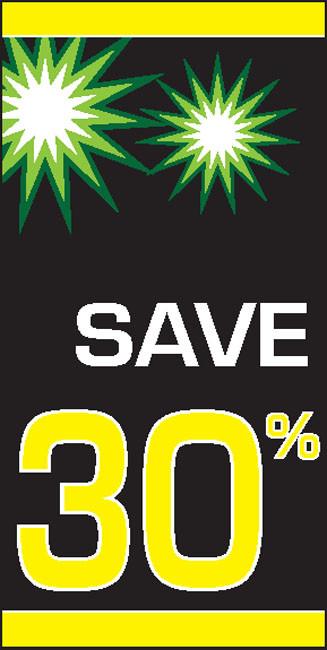Sale 30% OFF Vinyl Banner Sign Style 2400