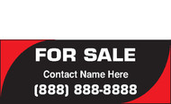 For Sale Banner Vinyl Signs 1800
