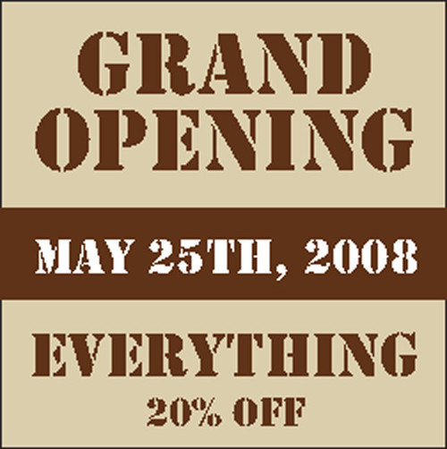 Grand Opening Banner Sign Designed by DPS Banners