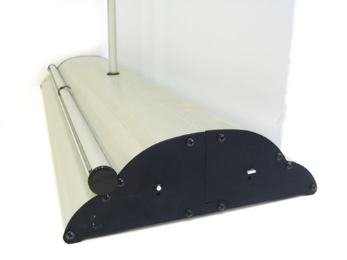 Banner Bug Giant 39 Inch Banner Stand Side View