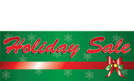 Great Holiday Sale Banner With Red Ribbon Detail Style 1000