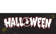 Halloween Banners - Vinyl Signs Style 1100