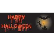Halloween Banners - Vinyl Signs Style 1200