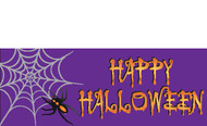 Halloween Banners - Vinyl Signs Style 3600