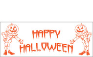 Halloween Banners - Vinyl Signs Style 1800