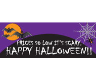 Halloween Banners - Vinyl Signs Style 3400
