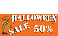 Halloween Banners - Vinyl Signs Style 2400