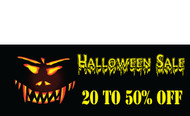 Halloween Banners - Vinyl Signs Style 2500