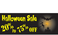 Halloween Banners - Vinyl Signs Style 2600
