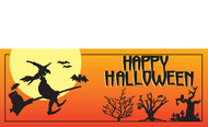 Halloween Banners - Vinyl Signs Style 3200