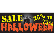 Halloween Banners - Vinyl Signs Style 2900