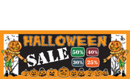 Halloween Banners - Vinyl Signs Style 3000