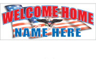 Welcome Home Banners - Signs Style 2100