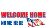 Welcome Home Banners - Signs Style 2000