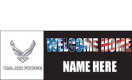 Welcome Home Banners - Signs Style 1600