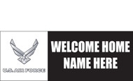 Welcome Home Banners - Signs Style 1500