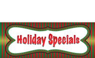 Holiday Sale Banners - Vinyl Signs Style 1500